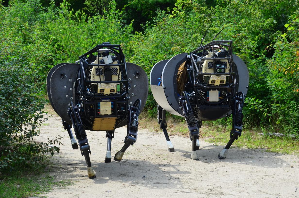 Виды современных военных наземных роботов
